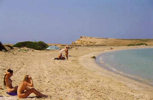 Naturist Beach Cyclades