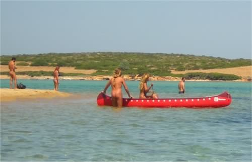 Naturist Beach Cyclades