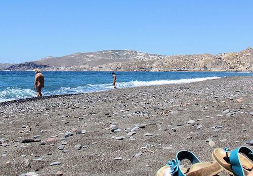 Naturist Beaches in North-East Aegean Islands