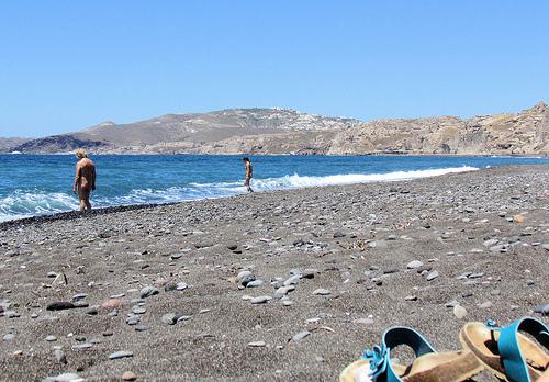 Naturist Beaches in North-East Aegean Islands