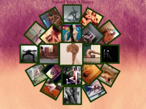 Naked Yoga Alliance Collage