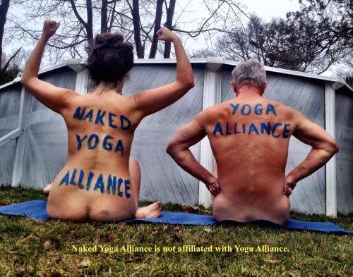 Naked Yoga Alliance Disclaimer