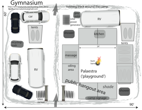 Gymnasium camp layout plan + name 3.0