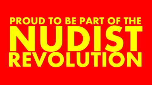 nudist revolution movement