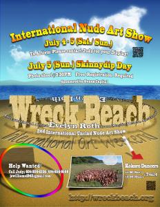 Wreck-beach-Art-Show2015