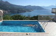 An afternoon dip in Montenegro