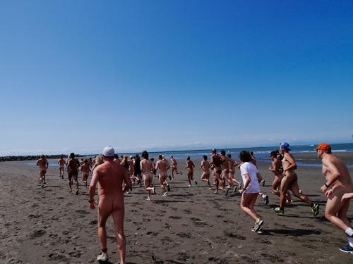 Wreck Beach Bare Buns run 2