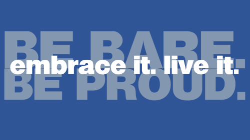 be bare be proud