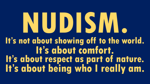nudism what is it about